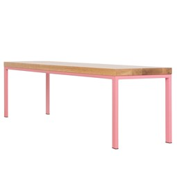 SIMPELVELD Bench - Pink