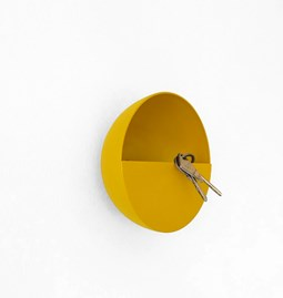 SPOK hook / pocket holder - mustard