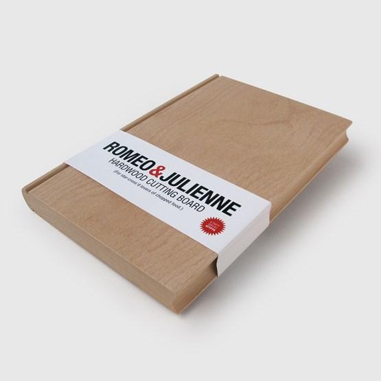 Planche à découper - Roméo & Julienne - Design : Atypyk