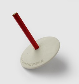 Eraser spinning top