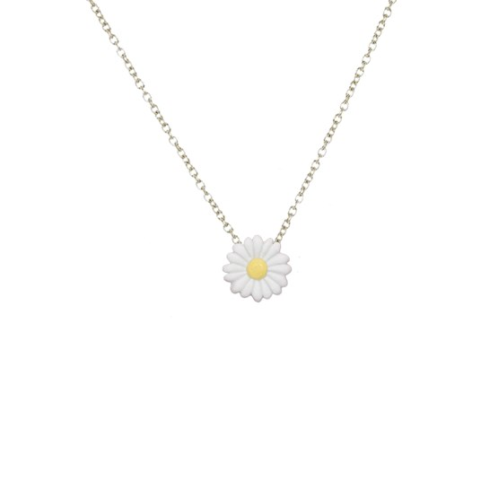 Daisy flower necklace - Design : Stook Jewelry