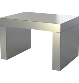 Gaby Banc/Table Basse  Aluminium