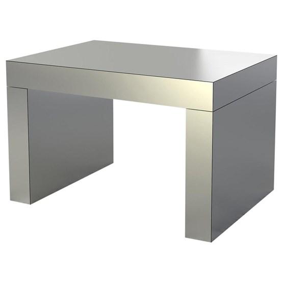 Coffee Table Gaby - aluminium - Design : Chapel Petrassi