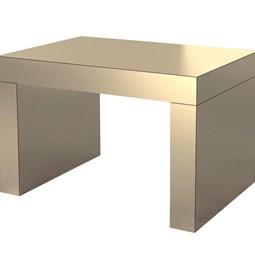 Gaby Coffee Table - Sand Bronze - aluminium