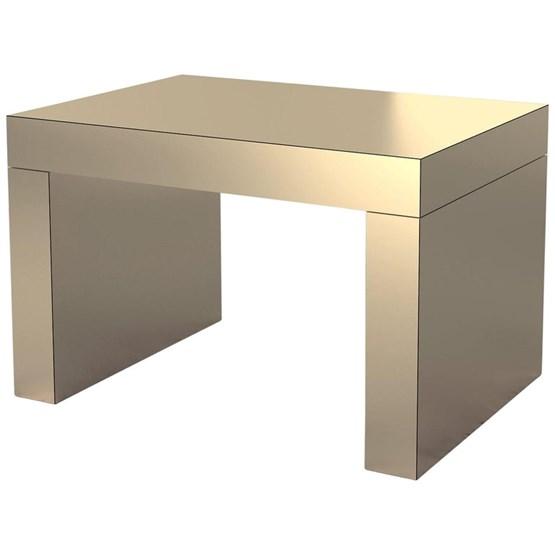Gaby Banc/Table Basse Bronze Sable Aluminium - Design : Chapel Petrassi