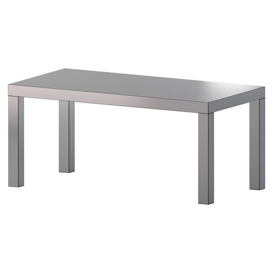 Hitan table - Aluminium  - Design : Chapel Petrassi