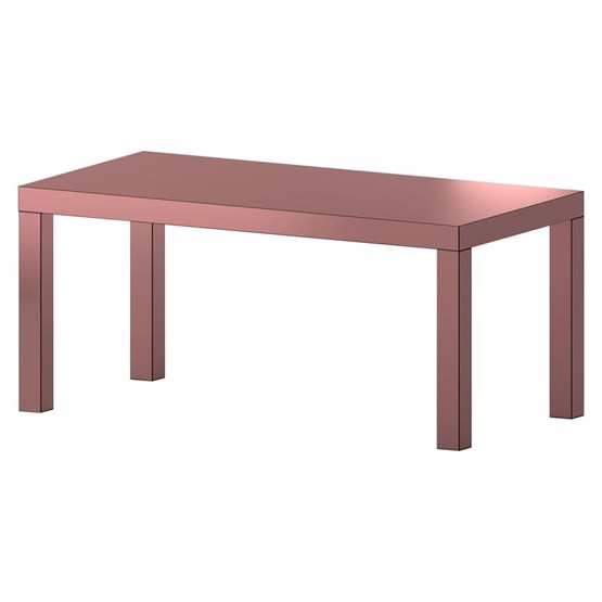 Table Hitan - Or Rose - Aluminium  - Design : Chapel Petrassi