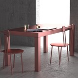 Table Hitan - Or Rose - Aluminium  4