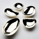 PEBBLES cups - silver 5