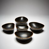 PEBBLES cups - silver 8