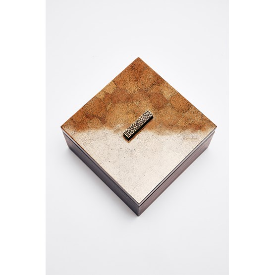 ELLA BOX SQUARE - BROWN EGGSHELL SQUARE - Design : Reda Amalou Design
