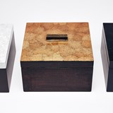 ELLA rectangular box - two-tone color lacquer  9