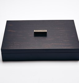 ELLA rectangular box - two-tone color lacquer