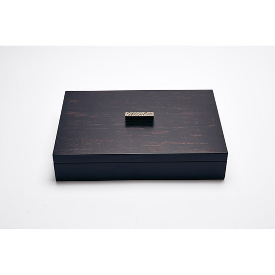 ELLA rectangular box - two-tone color lacquer  - Design : Reda Amalou Design