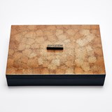 ELLA rectangular box - two-tone color lacquer  5