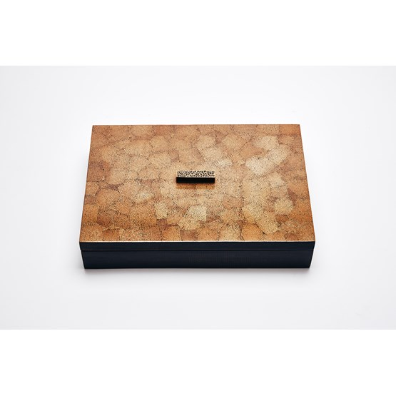 ELLA BOX RECTANGULAR - BROWN EGGSHELL  - Design : Reda Amalou Design