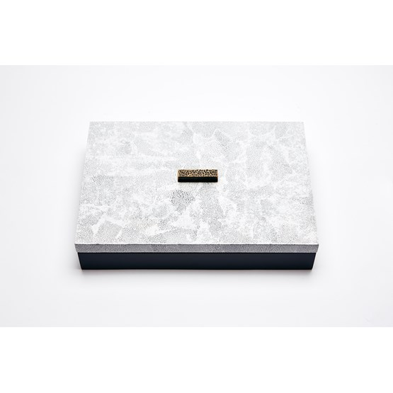 ELLA BOX RECTANGULAR - WHITE EGGSHELL  - Design : Reda Amalou Design