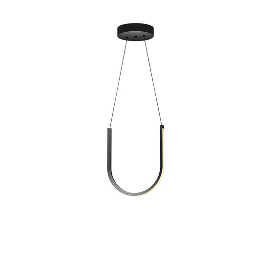 Suspension U1 - noire - Design : Arpel