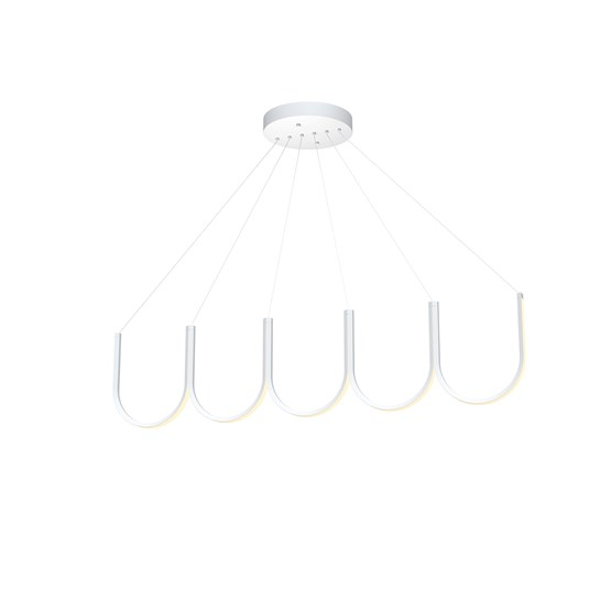 Pendant light U5 - white - Design : Sylvain Willenz