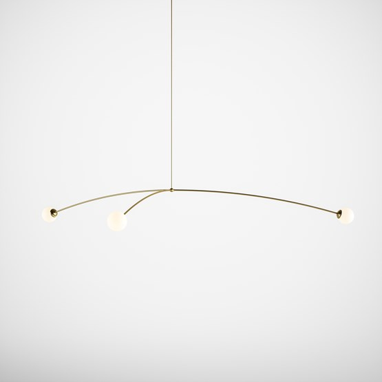 Suspension Eole  - Design : Gobo Lights