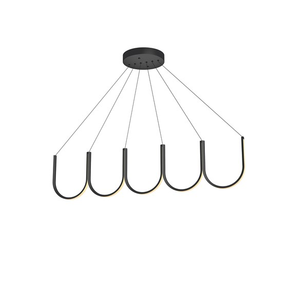 Suspension U5 - noire - Design : Arpel