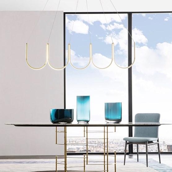Suspension U5 - laiton - Design : Sylvain Willenz