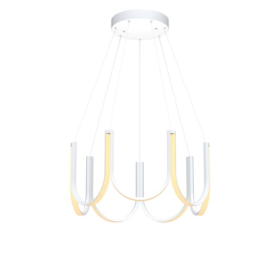 Suspension U7 - blanche - Design : Sylvain Willenz