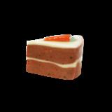 Petit carrot cake pin/broche  3