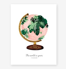 World is yours  - Print
