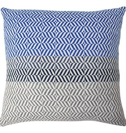 Uccle Cushion - Indigo II