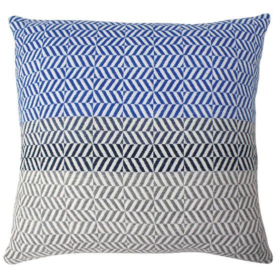 Coussin Uccle - Indigo II   - Design : Pamela Print