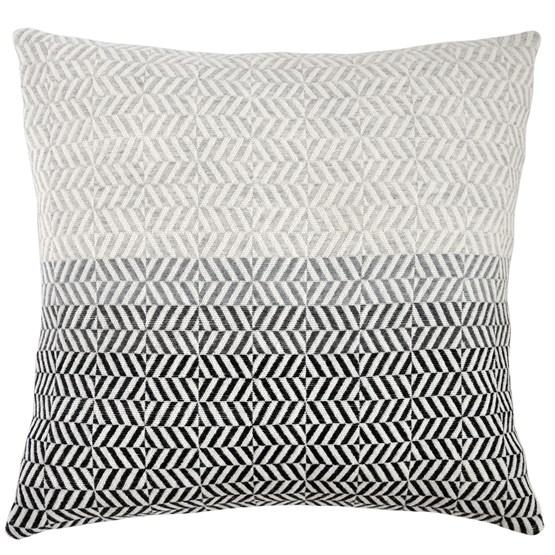 Coussin Uccle - Gris perle - Design : Pamela Print