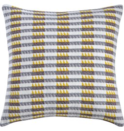Ixelles Cushion - Piccalilli Yellow