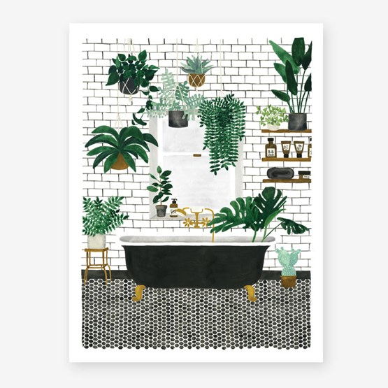Bathroom - Affiche - Design : All The Way to Say