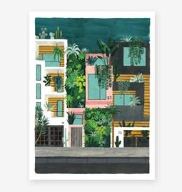 Buildings - Affiche