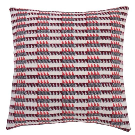 Coussin Ixelles - Papaye - Design : Pamela Print
