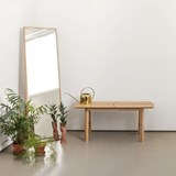 SAVIA Bench - Black wood / Black details 3