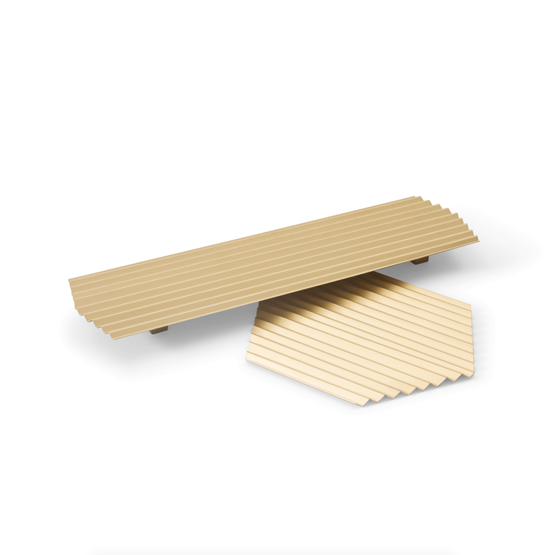VALLE trays duo - Gold - Design : WOODENDOT