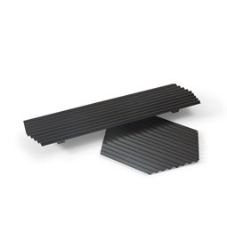 VALLE trays duo - Black