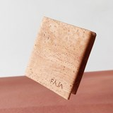 Origami wallet - cork 4