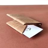 Origami wallet - cork 5