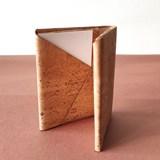 Origami wallet - cork 6