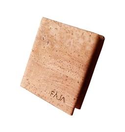 Origami wallet - cork
