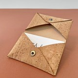 Origami Cork card holder 4