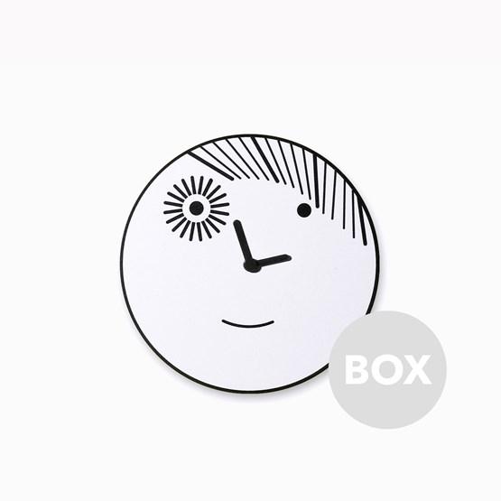 Horloge murale BAD BOY - Designerbox - Design : matali crasset