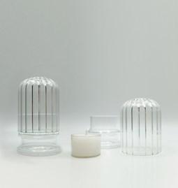 Candleholder MOSCARDINO - Glass