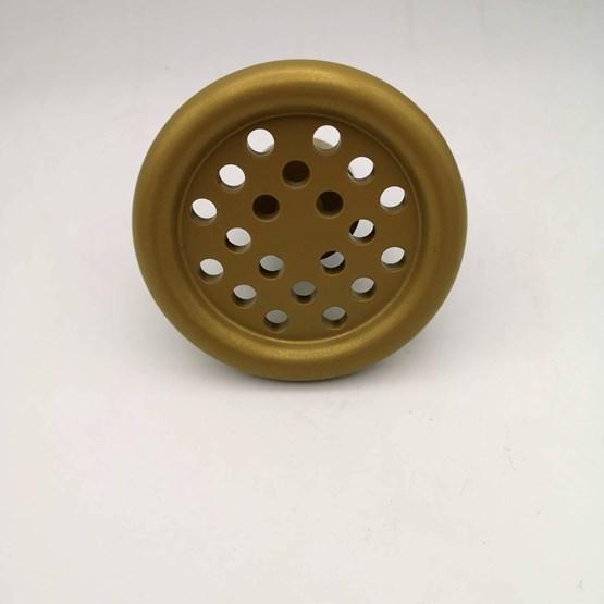 Patère SP - aluminium doré - Design : AG L.O.B.