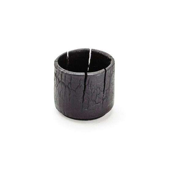 pot – xs – burnt wood - Design : MAUD Supplies