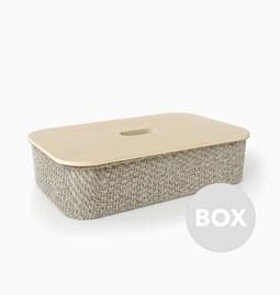 Boite en Lin FABRIC - Box 36