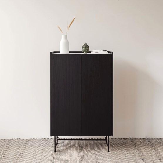 Cabinet FORST - marbre blanc - Design : Un'common